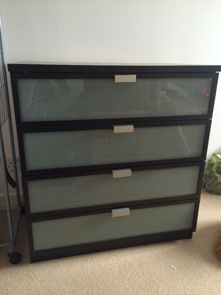 Ikea Aspelund Bedroom Furniture ~ Ikea Hopen 4 drawer dresser chest of drawers  in Edinburgh  Gumtree