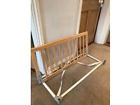 Babydan Wooden Bed Guard - Natural