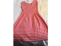 French connection coral summer dress. Size U.K. 10