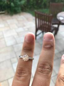 Diamond Ring 1.09 carat
