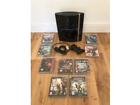Original PS3 Console + One Dual Shock 3 Controller + 9 AAA Games