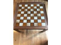 chess style coffee table