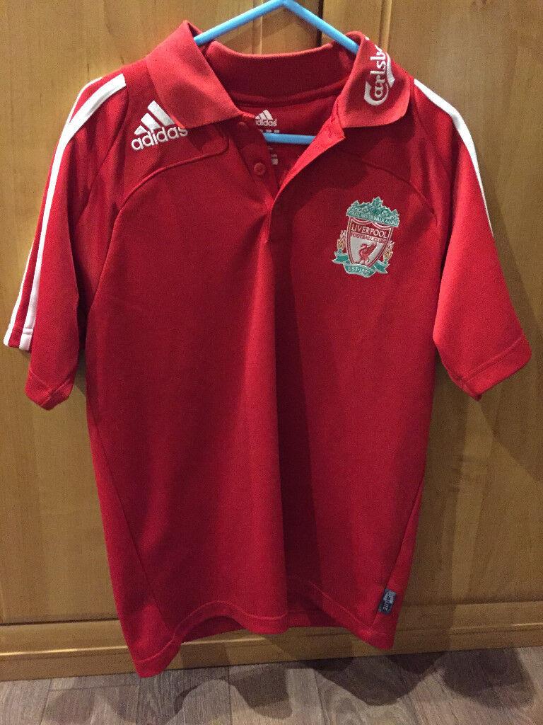 2005 2006 Adidas Liverpool Fc Polo Shirt In Birstall