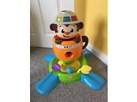 Monkey ball popper toddler toy