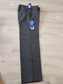 Brand new 13-14 years grey school trousers