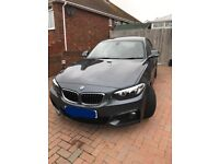 BMW 220I M Sport Coupe Mineral Grey - Stunning condition!