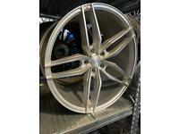"20"" VEEMANN alloy wheels alloys rims Vw Volkswagen transporter t5 t6 Bmw 3 4 5 6 series"