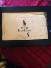 Brand new polo towel set