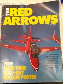 Red Arrows collectible magazine memorobillia