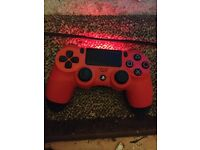 Ps4 red controller perfect condition dual shock 4