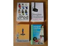 x4 douglas coupland books