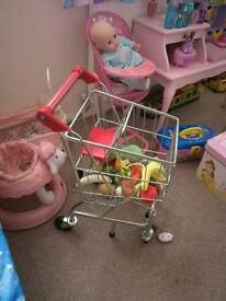 toy trolley (metal)