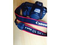 Canon 5d mkii (reduced price for quick sale)