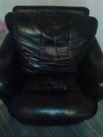 Electric Leather Recliner chair