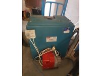 Warm flow 9120 oil boiler