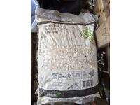 Classy White Decorative Stone Pebbles/Chips *UNOPENED* for your garden or path