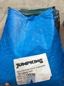 Jumpking 10'x15' ovalpod trampoline net