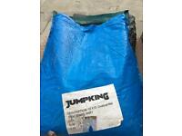 Jumpking 10'x15' ovalpod trampoline net