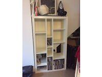 IKEA white Bookcase : Good condition!