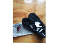 Ladies soft dance shoes size 5