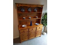 Pine Welsh Dresser (Delivery Possible)