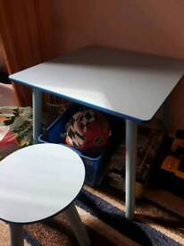 Childs table and stool