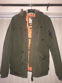 Men's green coat