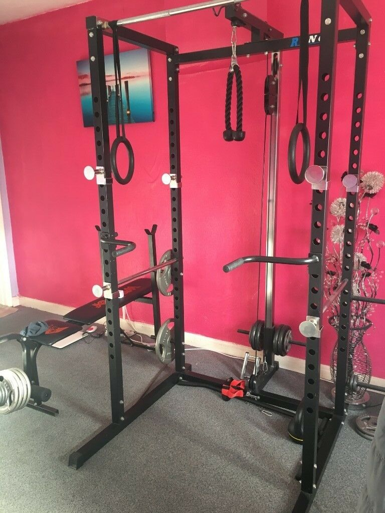 Ryno Power Rack Squat Cage Gym In Gosport Hampshire