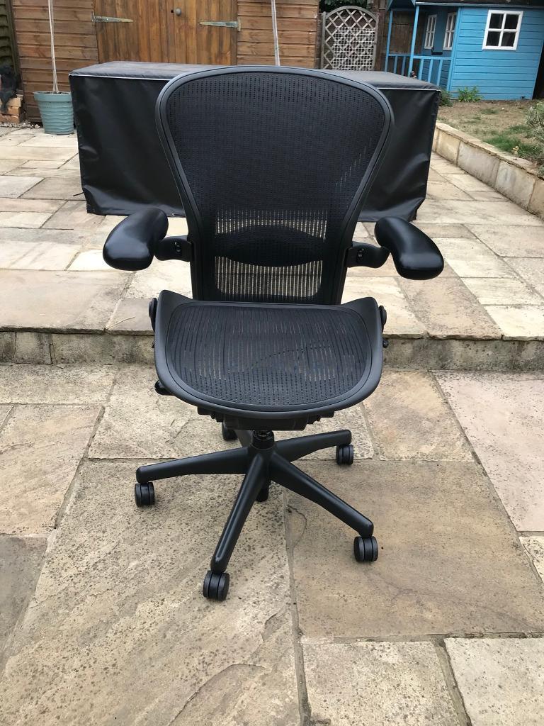 Herman Miller Aeron Chair Size C In Burnham Berkshire Gumtree