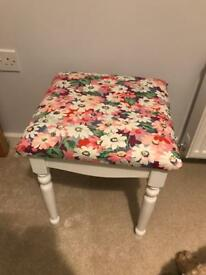 Dressing Table Stool Cath Kidston Fabric