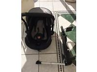 Isofix and car seat