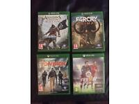 Xbox one games different prices read ad!