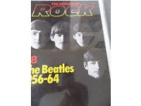 "The Beatles 1956-64 ""The History of Rock No. 28"" in clip-on glass frame"