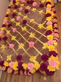 Decorated Mehndi Dupatta