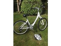 Ladies Giant Liv Sedona Bike Size S with helmet