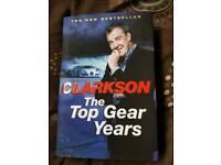 Three Jeremy Clarkson top gear car books