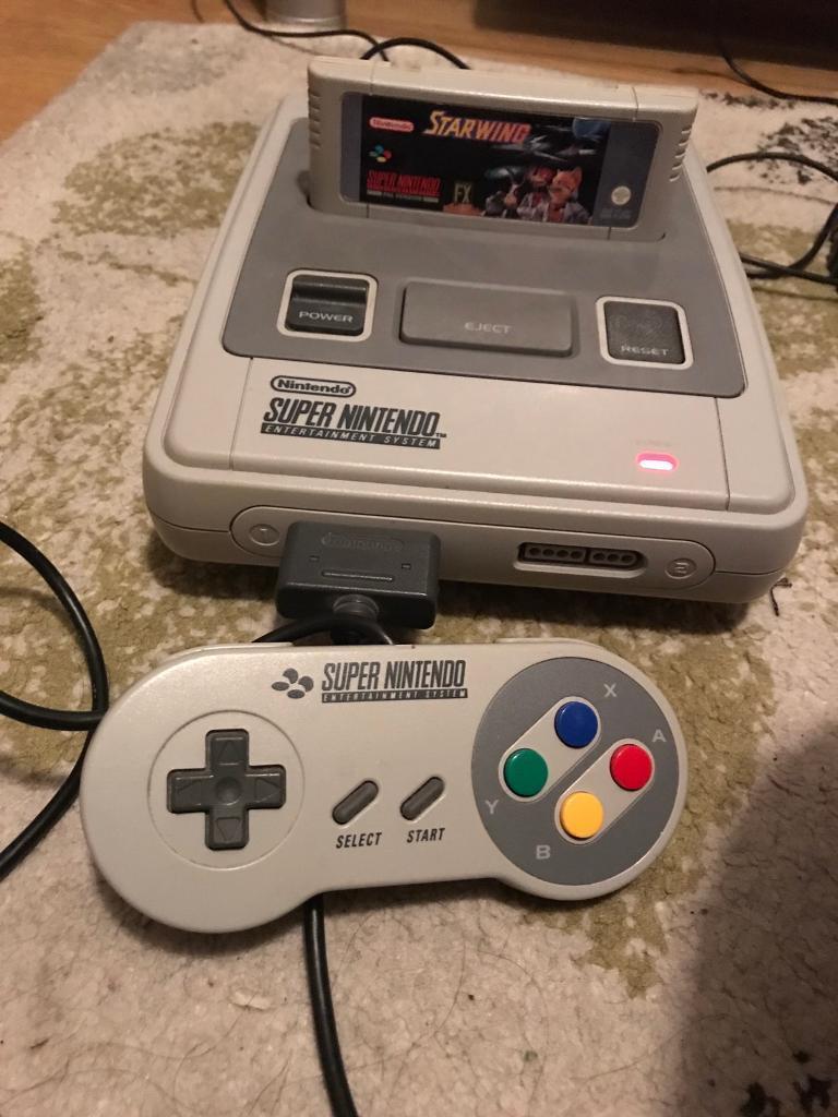 Super Nintendo very good condition