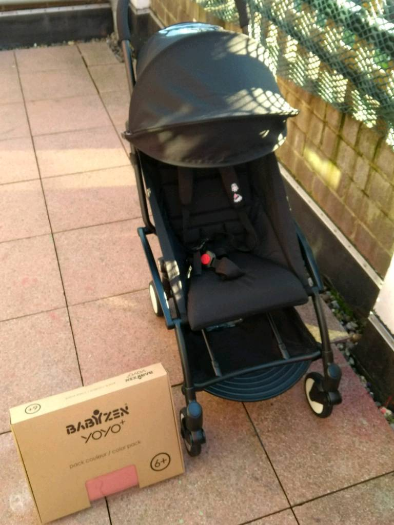 Babyzen Yoyo Black Latest Model New Ginger Colour Pack In London Gumtree