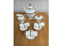 Royal Doulton coffee set.