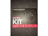Home protection CCTV 4 camera kit