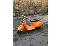 AJS Modena orange 125 scooter!