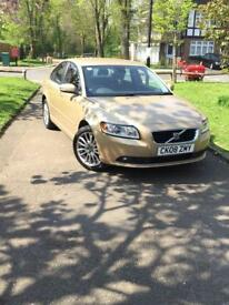 Volvo S-40 SE(2008) 1.8 Petrol Gold very cheap only £2199