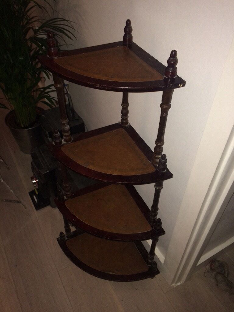 Vintage Corner Shelf Unit Reduced