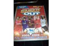 Shoot Out Trading Card Album - 2005/6 - Not fully complete but a lot of cards