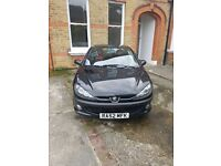 Peugeot 206 convertable manual in perfect condition. First to see will buy