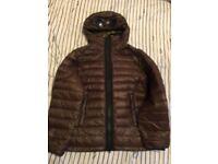 Kids age 10 cp company goggle coat