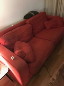 Double beds, wardrobes, dining table chairs, sofa, arm chairs all most go