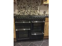 Belling Countrychef gas range cooker and belling hood