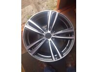 Genuine BMW 3 4 Series F30 F31 F32 F33 Rear Alloy Wheel
