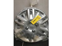 Silver colour plastic Car wheel trims 13 inch NEW in pack